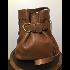 Vintage Coach Soho Belted crossbody bucket bag
